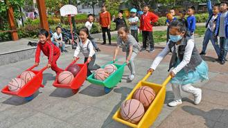Activities held across China to welcome International Children's Day.