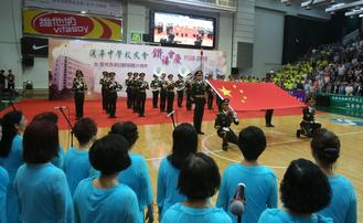 The Hon Wah College Alumni Association held events to mark its 60th anniversary on Saturday.