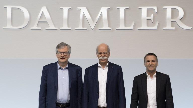 Daimler fights Tesla, VW with new electric big rig truck