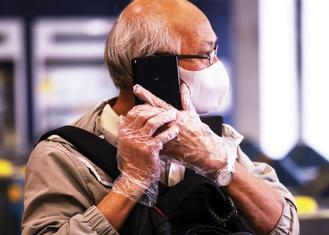 More than 90 percent of Hong Kong residents have been wearing a surgical mask in public since Jan 23, a day after the city's first coronavirus case was confirmed.