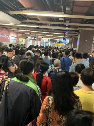 Hong Kong faced a third-straight day of traffic disruptions Wednesday, after protesters went on another rampage in various districts on Tuesday night.