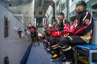 Beijing's successful Winter Olympics bid reignites passion in former would-be hockey pros.
