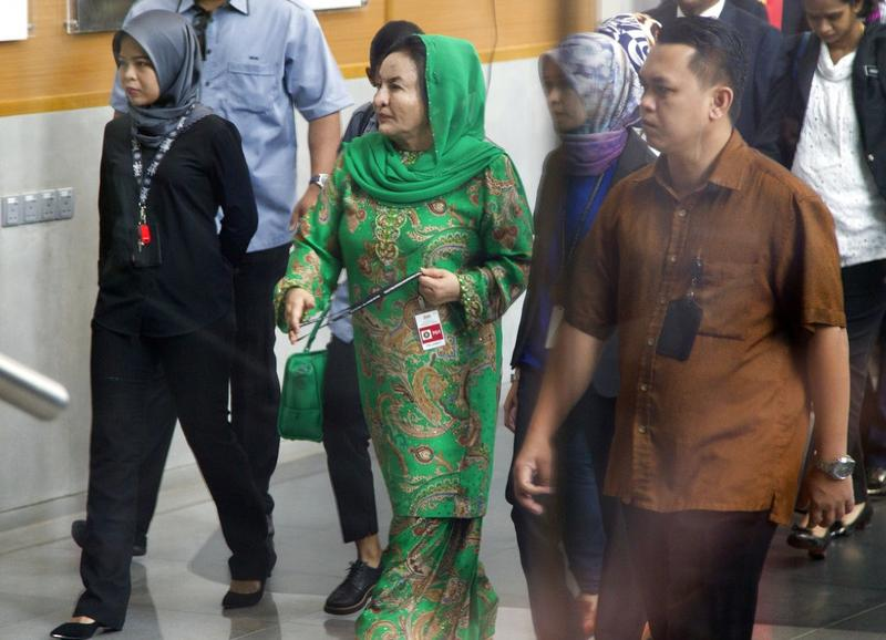 Najib's wife questioned by 1MDB investigators | Asia News | China Daily