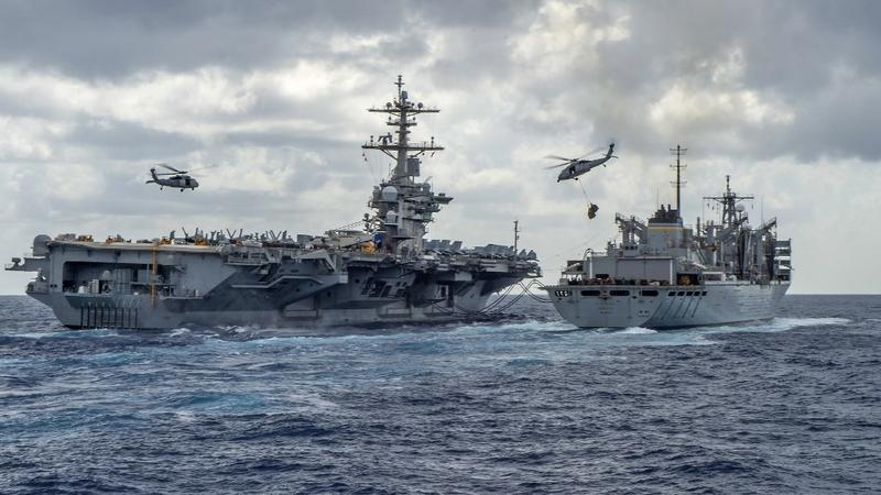 US Navy conducts exercises in Arabian Sea | Asia News