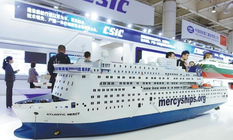 Shipbuilding giant to focus on high value-added vessels