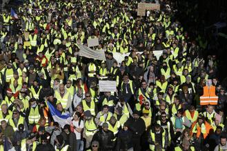 The French 'yellow vest' protest movement is crossing borders, with demonstrations planned in neighboring Belgium and in the Netherlands.