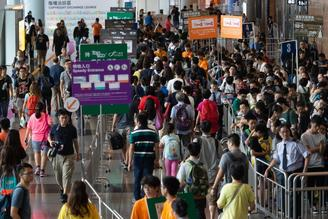 The 29th Hong Kong Book Fair, featuring 680 exhibitors from 38 countries and regions, kicked off on Wednesday.