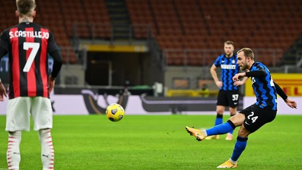 Ibra Sent Off As Inter Win Milan Derby In Coppa Italia Sports China Daily