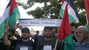 Protests against Bahrain conference