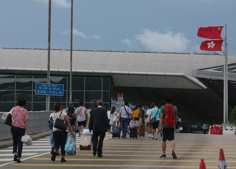 Spare our passengers': Hong Kong airport's plea to