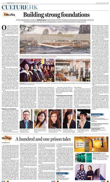 Building strong foundations   Offbeat HK   China Daily